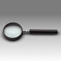 D 005 - LCH 8750A - Magnifier for reading with solid round handle