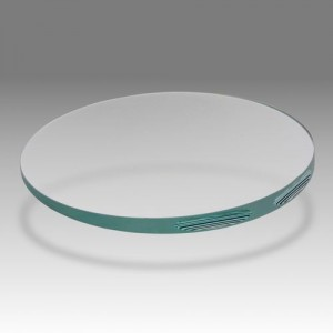 D 707 - Wedge-shaped glass for aircraft industry