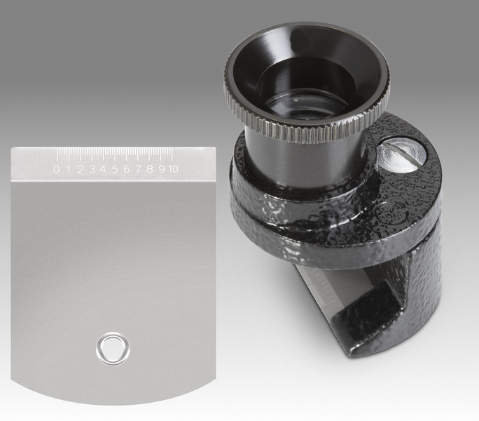 D 202 - LMS 8x, 10x, 12x - Brinell - aplanatic gauging magnifier