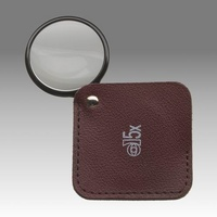 D 224 - LK 4502 - Sliding magnifier in leather