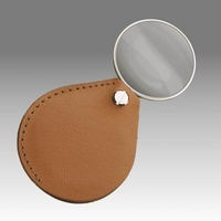 D 225 - LPK 45 K - Sliding magnifier in leather