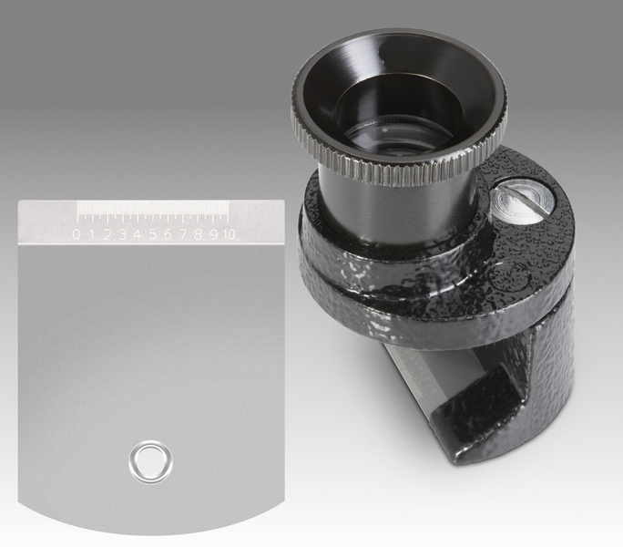 Brinell - aplanatic gauging magnifier - D 201A - LMK 10