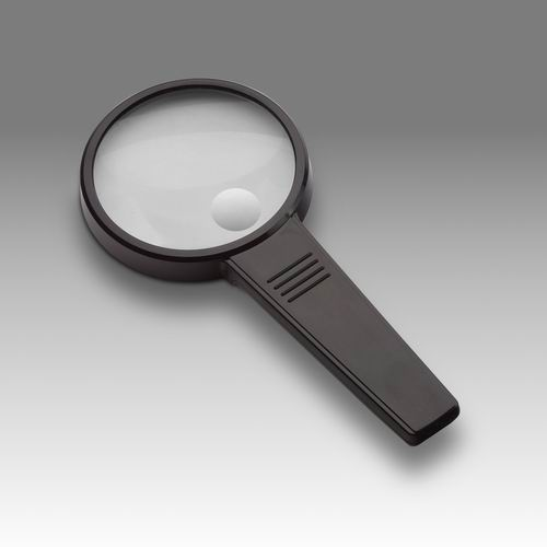 D 014 - LCH 8275A - Magnifier for reading with solid rectangular handle
