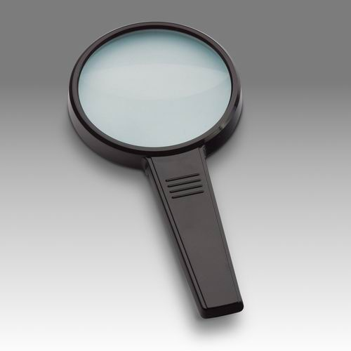D 011 - LCH 8290 G - Magnifier for reading with solid rectangular handle