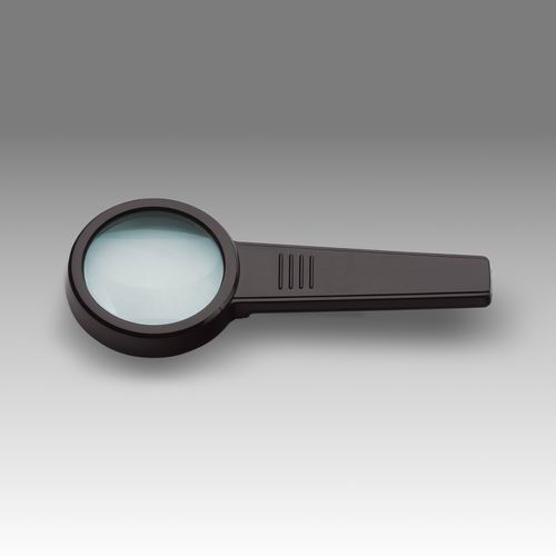 D 009 - LCH 8250 G - Magnifier for reading with solid rectangular handle