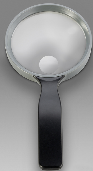 D 002 - LCH 8750 G - Magnifier for reading with solid round handle