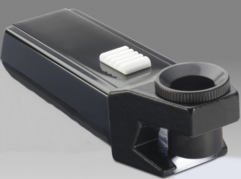Brinell - gauging magnifier with lighting - LKSM 15 - D 209E