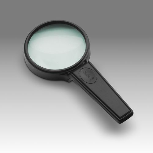 D 021 - LCH RH75G - Magnifier for reading with raised handle