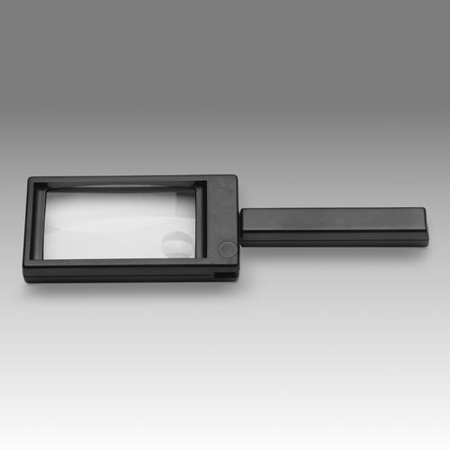 D 055 – LCH FH85A - Rectangular magnifier with folding handle